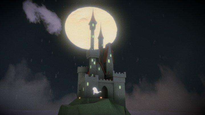 Spooky Castle [Halloween Challenge] 3D Model