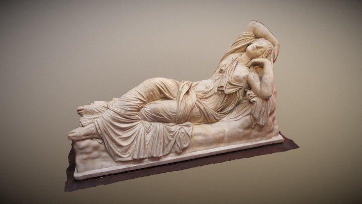 Sleeping Ariadne / Arianna dormiente 3D Model