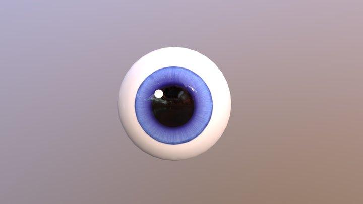 Stylized Eye 3D Model