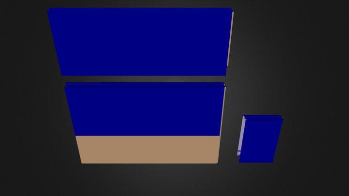 revetement brique 5 3D Model