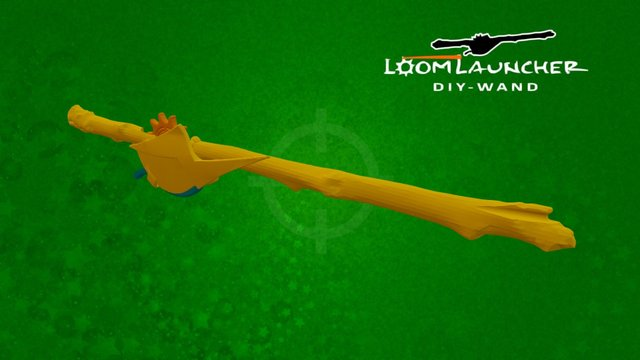Loom Launcher DIY Wand - WIP 3D Model
