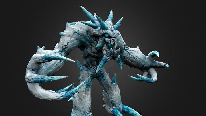 ICE ELEMENTAL 3D Model