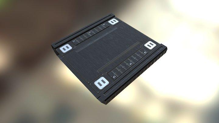Scifi Platform 3D Model