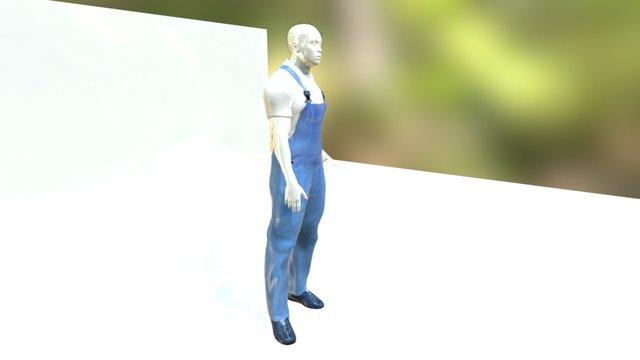 Sletchtab Work Boy 3D Model