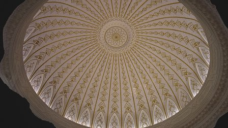 Ceiling Dome: Islamic Arts Museum, Malaysia 3D Model