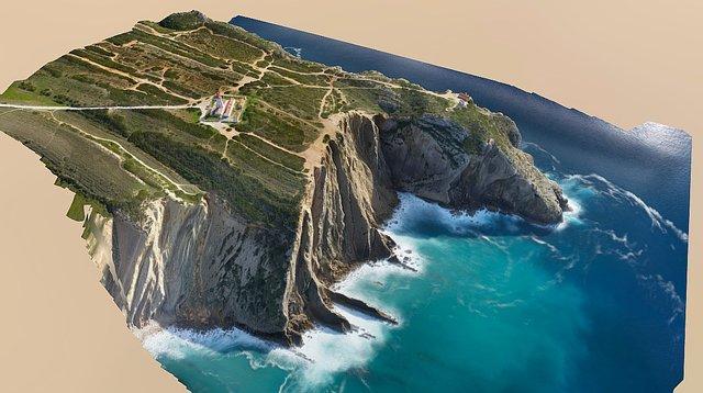 Modelo 3D do Cabo Espichel 3D Model