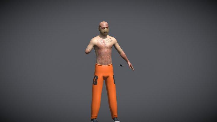 Phsyco-Killer 3D Model