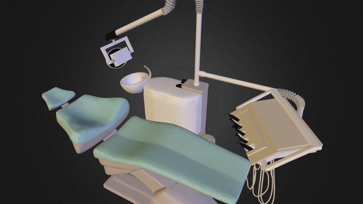 Dental chair Granum TS6830 Sonata N251210.3DS 3D Model