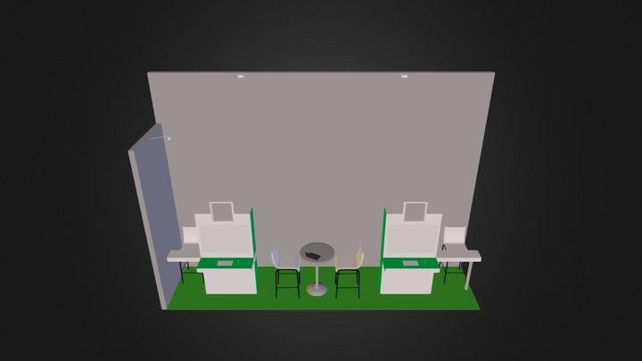 powercom.3DS 3D Model