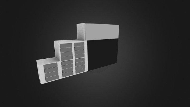 Skab 3D Model