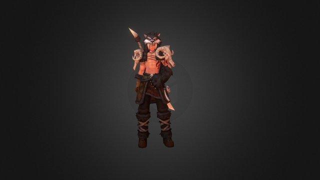 Blade Warrior H01 3D Model