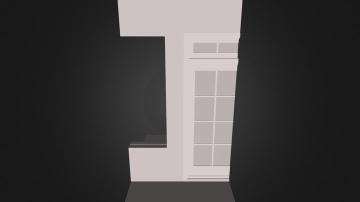 Liberte Balcony Brick Version 1 3D Model