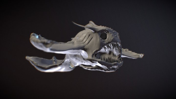 sculptjanuary19 - day 1 - beast: deep sea 3D Model