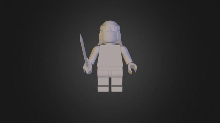 RS Legoman Testfile 3D Model
