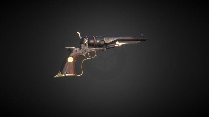 West Gun 3D Model