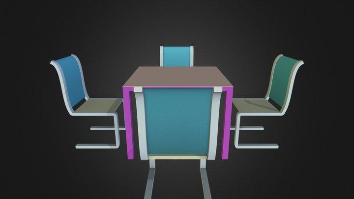 Mesa Curso_02 3D Model