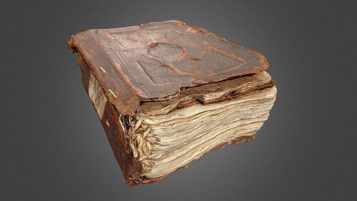 Coptic prayer book 3D Model