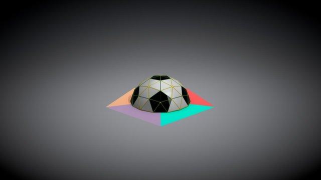 3_8 Dome 3D Model