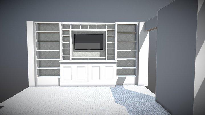 Higgins Crib 3D Model