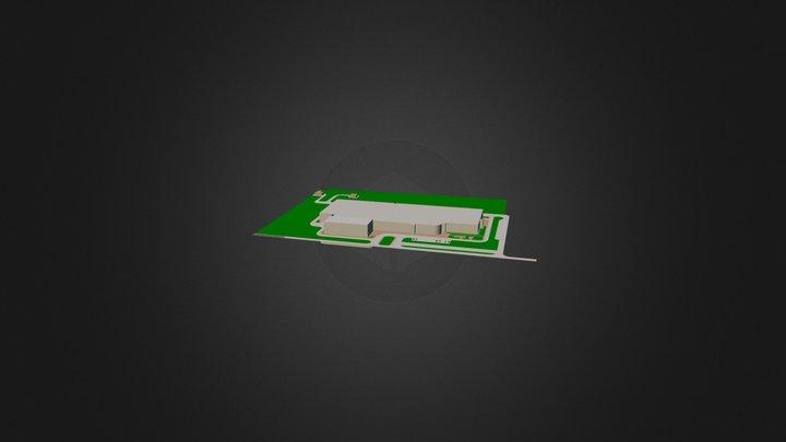 генплан 7 ровное 3D Model