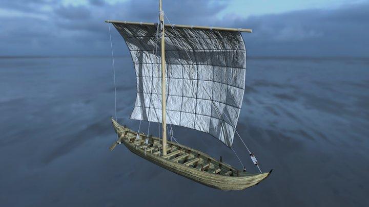 Vaixell de fons pla (Ullastret) 3D Model