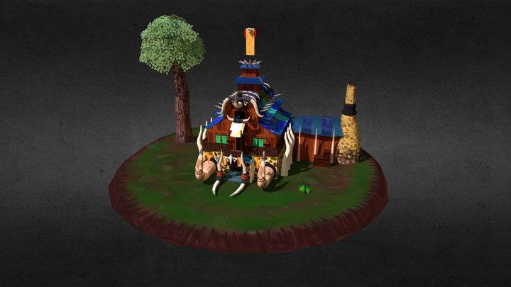 Environment - House Orc 3D Model