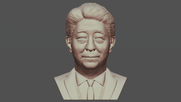 Shinzo Abe bust for 3D printing 3D Model