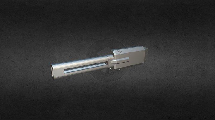 X2 - New Laser Weapon V1 3D Model