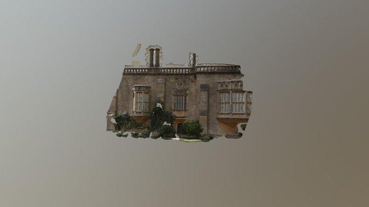 Lacock Abbey Window 1 3D Model