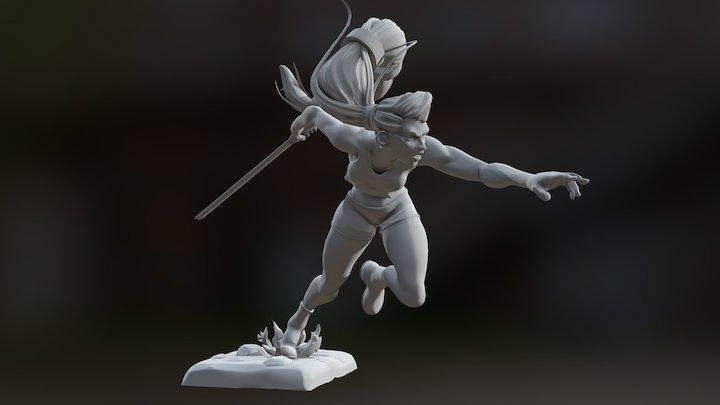 Dash! 3D Model