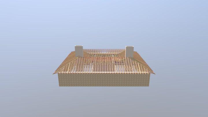 3803 David Halley Roof 03-11-19 3D Model
