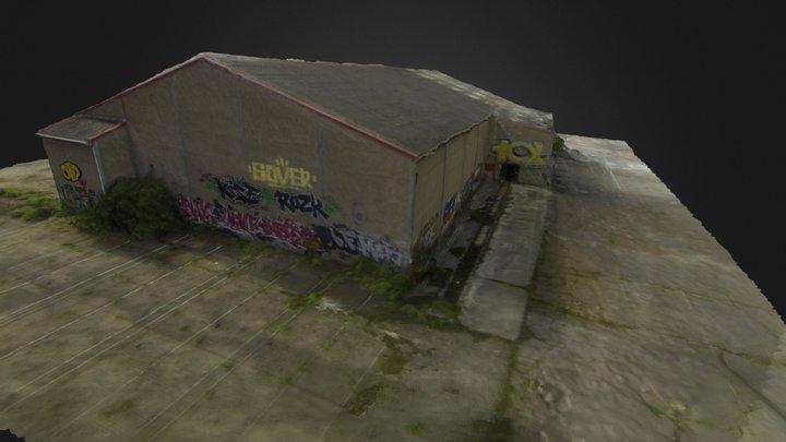 N G V Hangar 3 D 3D Model
