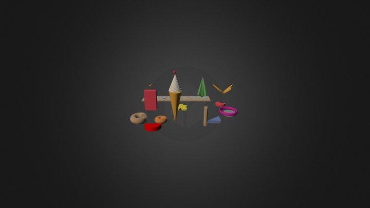 Copy Of Merienda Infantil 3D Model
