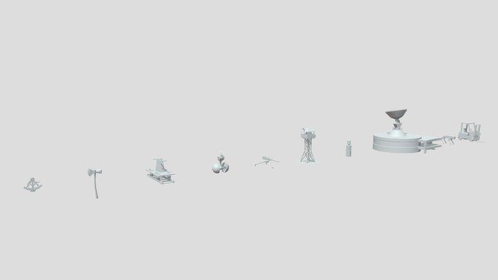 [xyz_school] HW2-blocking(SH20201027) 3D Model