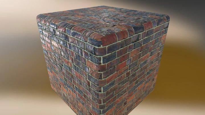 Brick-Wall Substance 3D Model