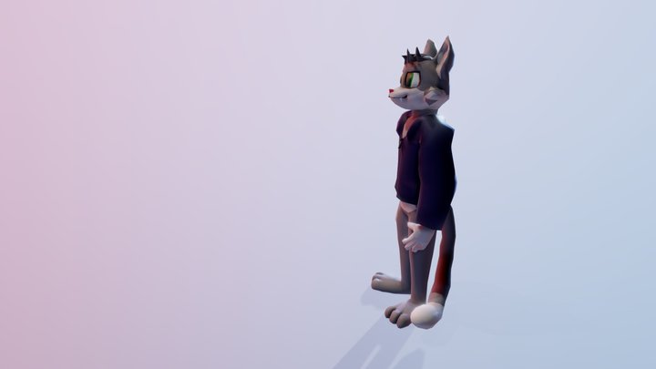 Funny animation 3D Model