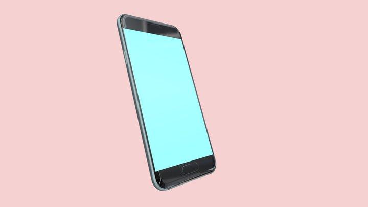 Samsung A3 3D Model