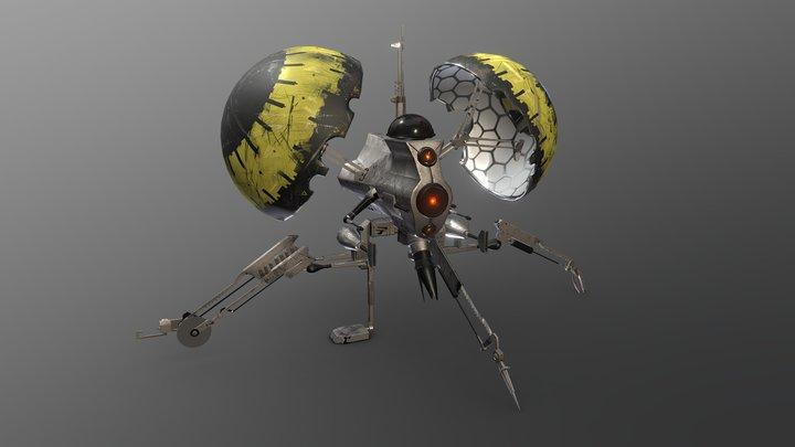 Buzz Droid 3D Model