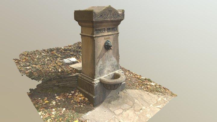 Sängerbrunnen in Purkersdorf 3D Model