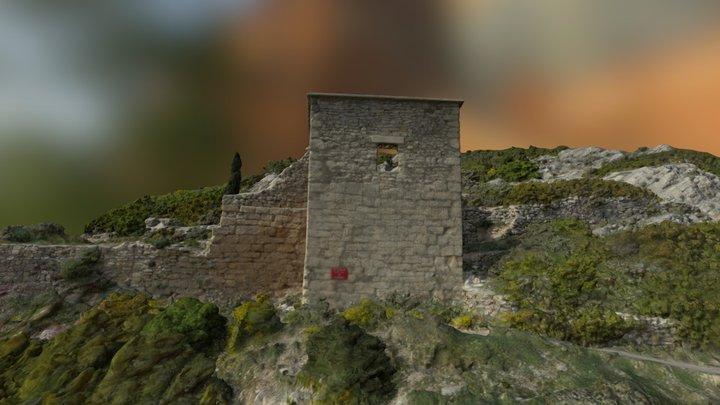 Chapelle Saint Clair 3D Model