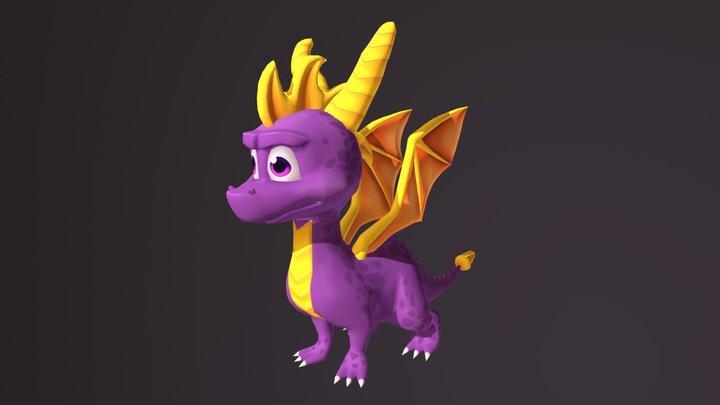 Spyro 3D Model