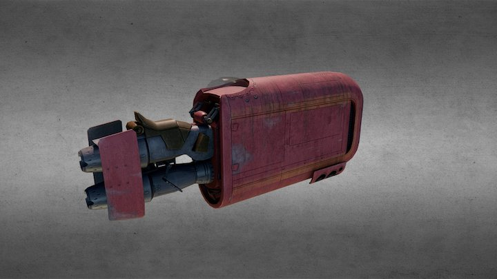 Star Wars - Rey's Speeder 3D Model