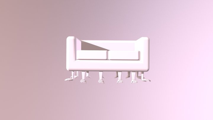 HandyCouch 3D Model