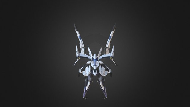 ES Dinah (Xenosaga) 3D Model