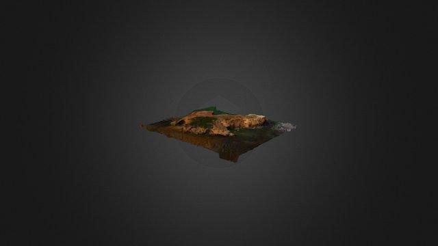 MERRI ISLAND....PENGUIN'S ISLAND LITTLE BROTHER 3D Model