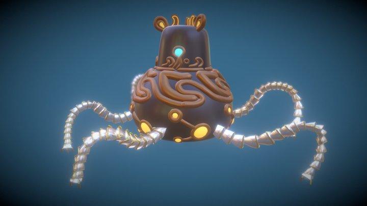Zelda Guardian (Gravity Sketch) 3D Model