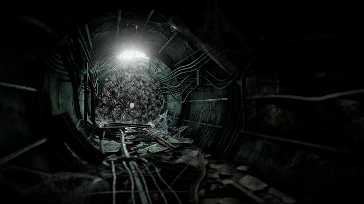 Trapped in the Metro 3D Model