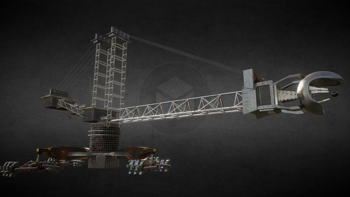 Singularity Drill 3D Model