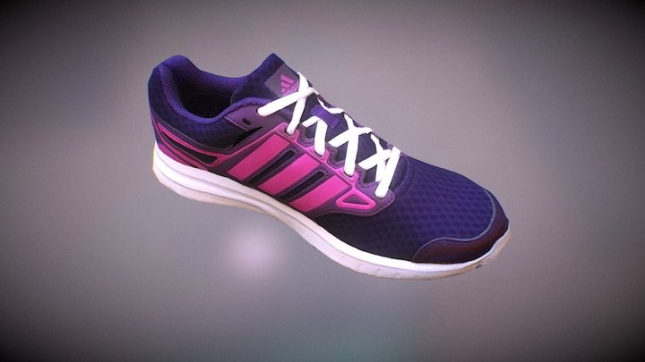 Adidas CloudFoam Women's shoes 3D Model