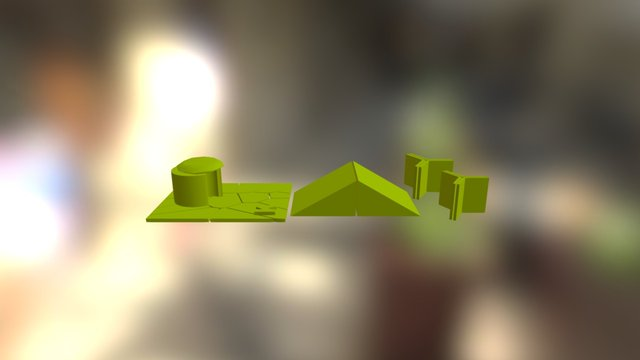 Incredible Mouse House-group 5 3D Model